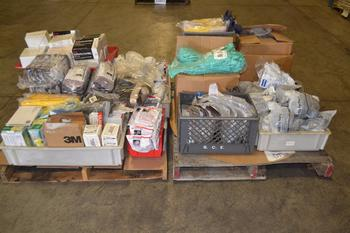 2 PALLETS OF ASSORTED PPE