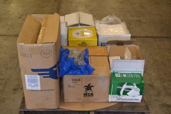 1 PALLET OF ASSORTED SANITARY PPE