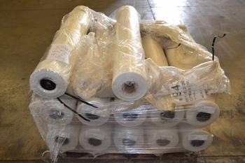 1 PALLET OF 48X0015 SINGLE WOUND PLASTIC SHEETING