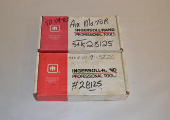 LOT OF 2 INGERSOLL RAND AIR MOTORS