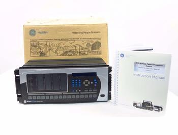 NEW GE MULTILIN F35 MULTIPLE FEEDER PROTECTION RELAY