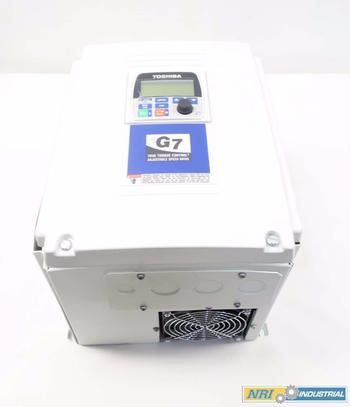 NEW TOSHIBA G7 40HP 460V AC VFD DRIVE