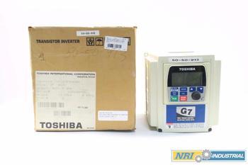 NEW TOSHIBA G7 7.5HP 460V AC VFD DRIVE