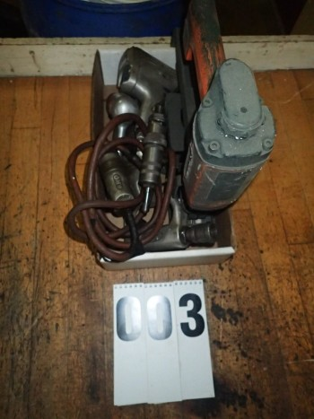 Lot of Air Tools incl. Nailer, Sioux Air Drill, Grinders, etc