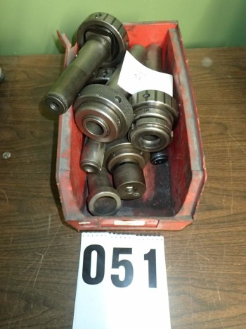7 Lathe Nose Collet Chucks Sleeves Etc