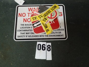 Safety Signs, Stickers, & Stamped Metal Name Plates