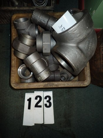 Black Pipe Weld Fittings Tees, Unions, Elbows, Couplers up to 2.5\