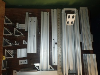 Bosch/Rexroth & 80/20 Aluminum Frame Channel Sections & Brackets