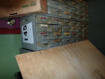 24 Drawer Steel Cabinet
