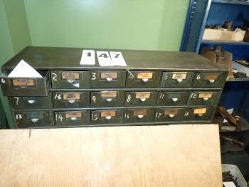 18 Drawer Steel Cabinet