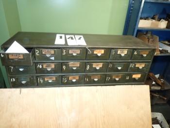18 Drawer Steel Cabinet