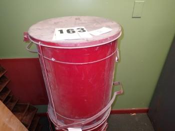 Justrite Oily Waste Rag Can 21-Gallon