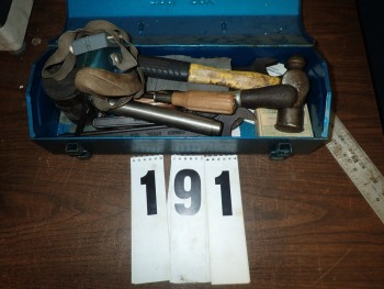 Tool Box w/ Contents of Hand Tools