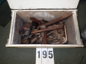 Crate of Assorted Tooling