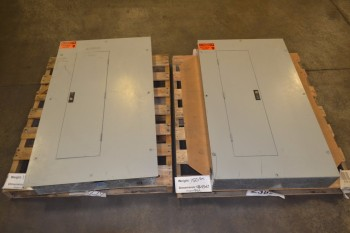 LOT OF 2 ASSORTED WESTINGHOUSE DISTRIBUTION PANELS