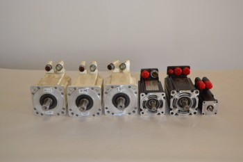 LOT OF 6 ASSORTED ALLEN BRADLEY SERVO MOTORS
