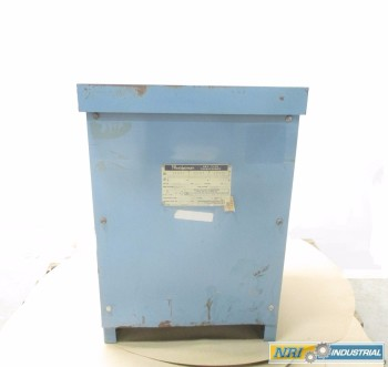 JEFFERSON POWERFORMER 30KVA 480V-AC TRANSFORMER