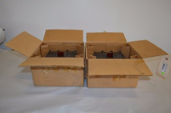 LOT OF 2 GENERAL ELECTRIC THJK626F000 CIRCUIT BREAKERS
