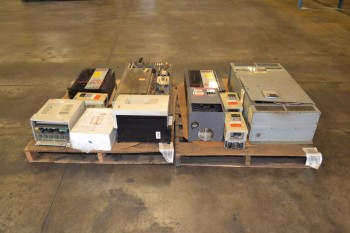 2 PALLETS OF ASSORTED MOTOR DRIVES