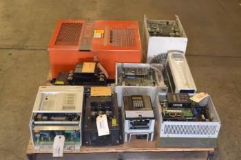 1 PALLET OF ASSORTED MOTOR DRIVES