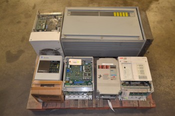 1 PALLET OF ASSORTED MOTOR DRIVES, ALLEN BRADLEY