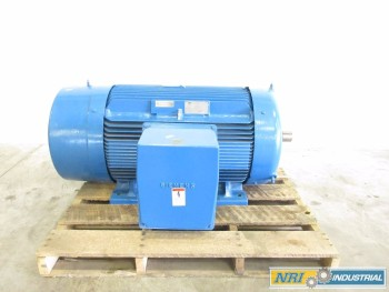 SIEMENS 250HP 460V-AC 3575 RPM 449TS 3PH AC MOTOR