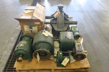 1 PALLET OF ASSORTED GEAR REDUCERS