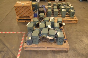 3 PALLETS OF ASSORTED GEAR REDUCERS