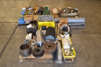 3 PALLETS OF ASSORTED POWER TRANSMISSION