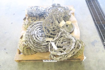 1 PALLET OF ASSORTED ROLLER CHAINS