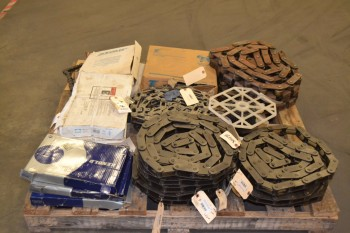 1 PALLET OF ASSORTED ROLLER CHAIN