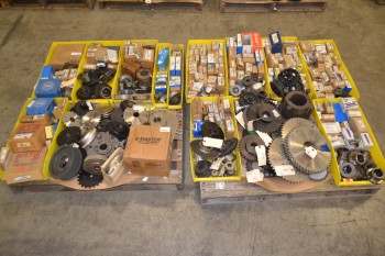 2 PALLETS OF ASSORTED POWER TRANSMISSION, MARTIN