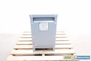 EGS HEVI-DUTY 15KVA 1PH 240/480V TO 120/240V TRANSFORMER