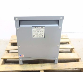 EGS HEVI-DUTY 15KVA 3PH 480V TO 208Y/120V TRANSFORMER