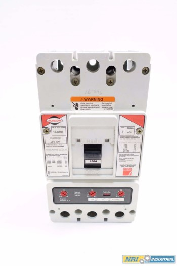 FEDERAL PIONEER HORIZON 3P 250A 600V-AC CIRCUIT BREAKER