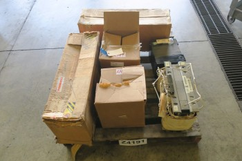 1 PALLET OF ASSORTED TRANSFORMERS