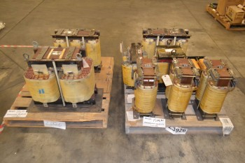 2 PALLETS OF ASSORTED LINE REACTORS