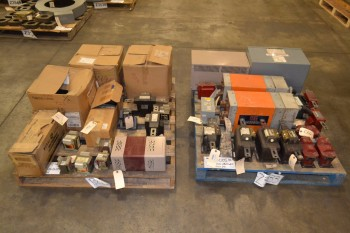 2 PALLETS OF ASSORTED TRANSFORMERS