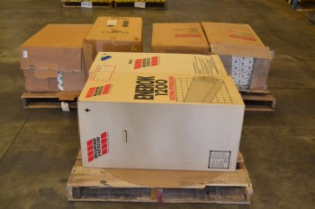 3 PALLETS OF ASSORTED STEAM PIPE INSULATION
