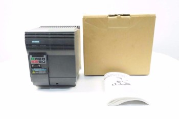 SIEMENS MICROMASTER VECTOR 7.5HP 480V-AC VFD DRIVE