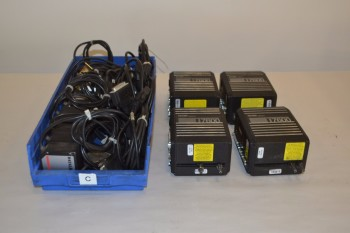 LOT OF ASSORTED ELECTRICAL CONTROLS