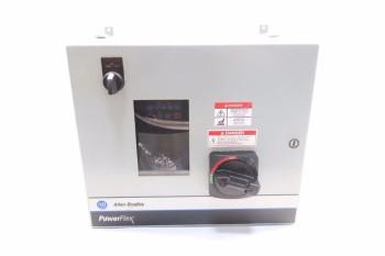 ALLEN BRADLEY POWERFLEX 40 5HP 480V-AC VFD DRIVE