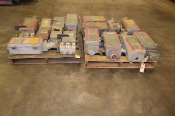 2 PALLETS OF ASSORTED DISCONNECT SWITCHES