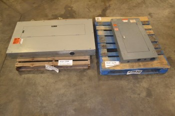 LOT OF 2 ASSORTED DISTRIBUTION PANELS
