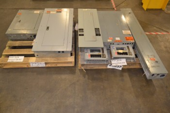LOT OF 7 ASSORTED DISTRIBUTION PANELS
