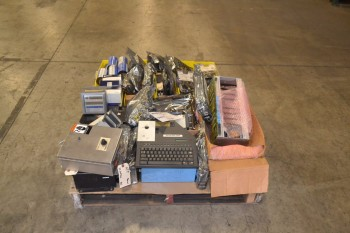 1 PALLET OF ASSORTED ELECTRICAL CONTROLS