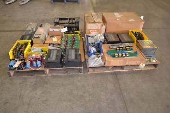 2 PALLETS OF ASSORTED ELECTRICAL CONTROLS