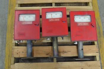 3 FOXBORO 43EP-F72SIF700A 0-300PSI ELECTRIC CONTROLLER (BRAMPTON)