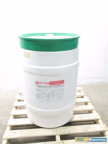 NEW ORCHEM 55GAL LIQUID PAN & CASE CLEANER