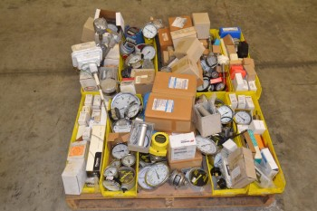 1 PALLET OF ASSORTED INSTRUMENTATION, AMETEK, DWYER